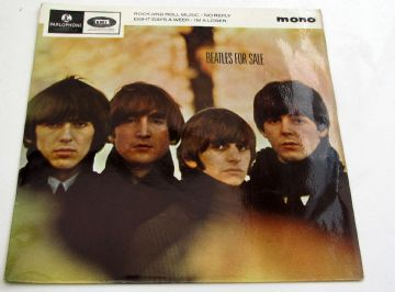 Beatles (The) BEATLES FOR SALE 1964 UK EP EX+ AUDIO